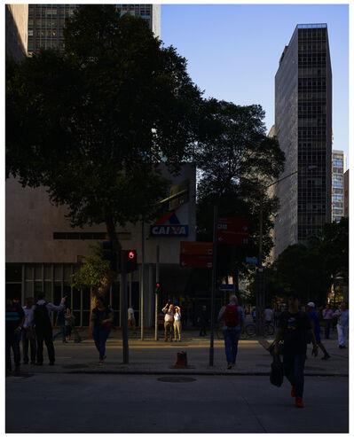 Oli Kellett, 'Cross Road Blues (Av. Almirante Barroso, Rio, Brazil)', 2019