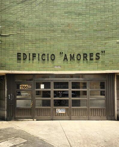 """Luis Molina-Pantin, 'Edificio """"Amores""""', 2019"""