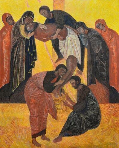 Esther Gonzalez, 'Descendimiento Bizantino'