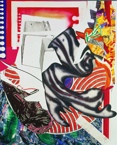 Frank Stella, 'Moby Dick', 1989