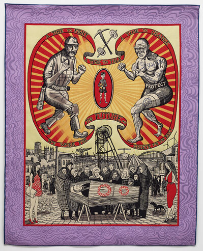 Grayson Perry, 'Death of a Working Hero', 2016