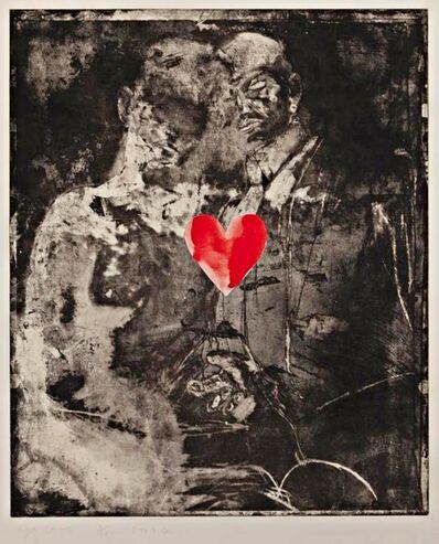 Jim Dine, 'Two Figures Linked by Pre-Verbal Feelings', 1976