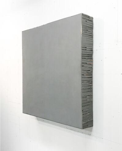 Noriyuki Haraguchi, 'Gray Square', 2019