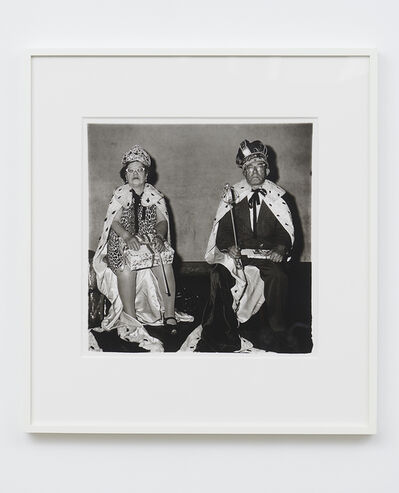 Diane Arbus, 'The king and queen of a senior citizens dance, N.Y.C.', 1970