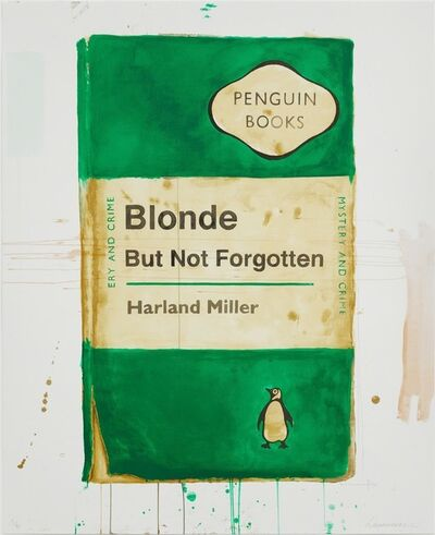 Harland Miller, 'Blonde But Not Forgotten', 2013