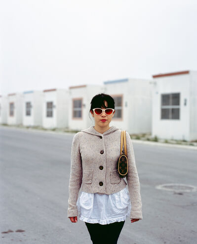 Alejandro Cartagena, 'From the series People of Suburbia, Girl coming home to suburb in Juarez from a night out in the city', 2008