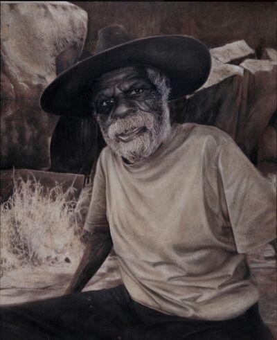 Vincent Fantauzzo, 'Portrait of Yannima Tommy Watson (panel 2 of triptych)'
