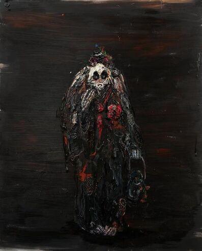Allison Schulnik, 'Hobo Clown with Bucket', 2011