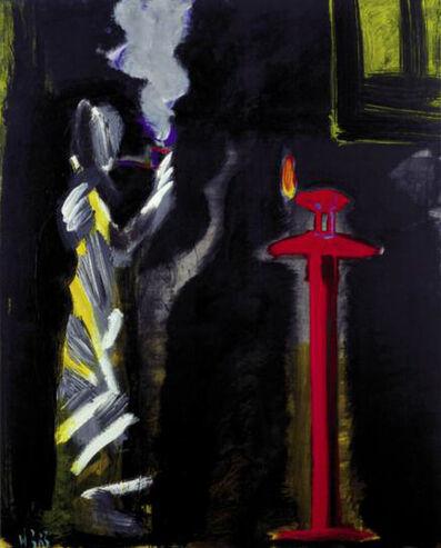 Juan Navarro Baldeweg, 'Fumador en interior con ventana', 1983