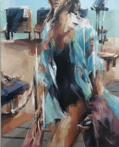 Murielle Vanhove, 'La Plage', 2018