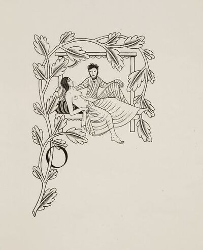 Eric Gill, 'THE WIFE OF THE BATH'S TALE; AND; VADAM AD MONTEM', 1934