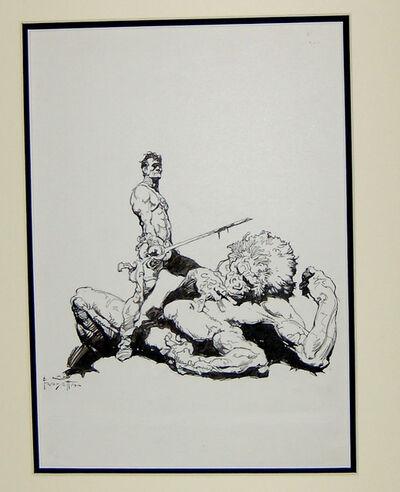 Frank Frazetta, 'Gods of Mars (frontispiece)', 1972
