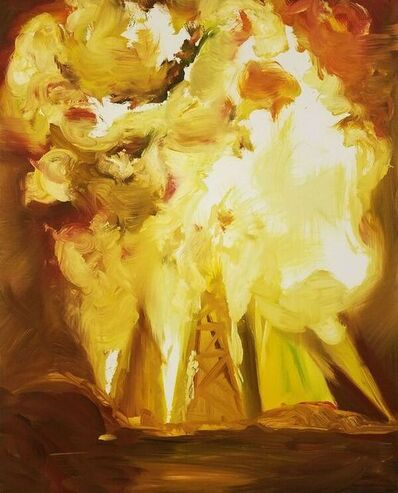 Joy Garnett, 'Explosion, Yellow & White ', 2009