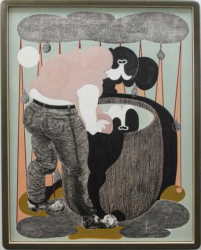 Alex Feuerstein, 'regentonne II (rain barrel II)', 2017