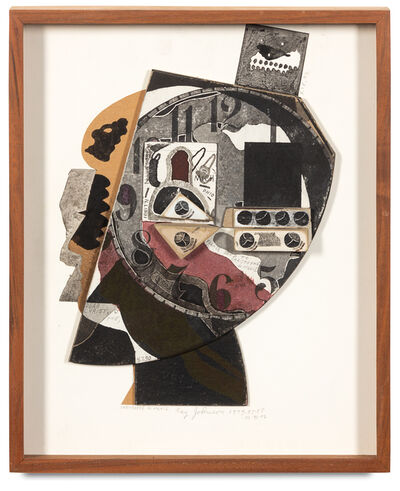 Ray Johnson, 'Christophe de Menil Silhouette'