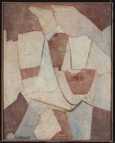 Serge Poliakoff, 'Marron et blue', 1948