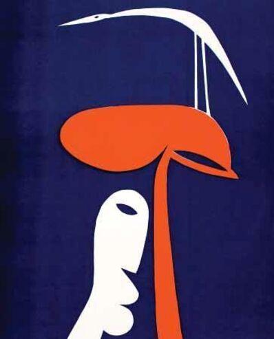 Walter Battiss, 'Bird, Tree, Man', ca. 1972
