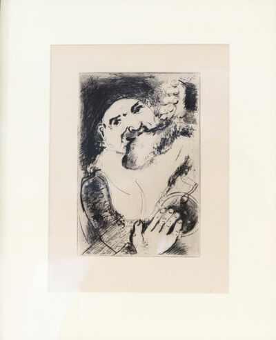 Marc Chagall, 'Gluttony  (La Gourmandise ) from The Seven Deadly Sins (Les Sept péchés capitaux)', 1925-1926