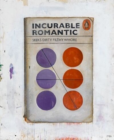 Harland Miller, 'Incurable Romantic ', 2011