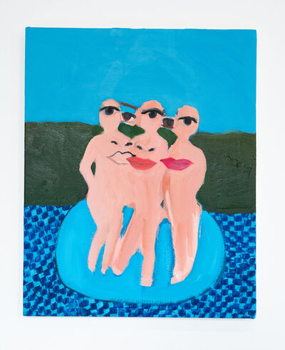 Becky Kolsrud, 'Untitled (Three Figures)', 2019