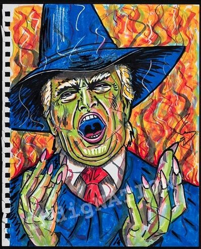 Jim Carrey, 'The Wicked Witch of the West Wing', 2018