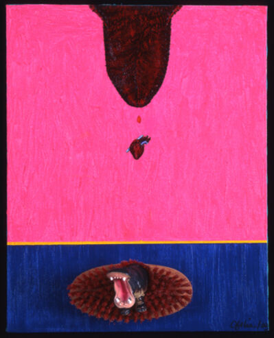 Ofelia Rodríguez, 'Pouring the heart over an island in turbulence', 2003