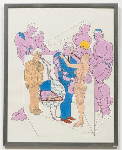 Terry Allen, 'Liftee Meets Pinky Too', 1967
