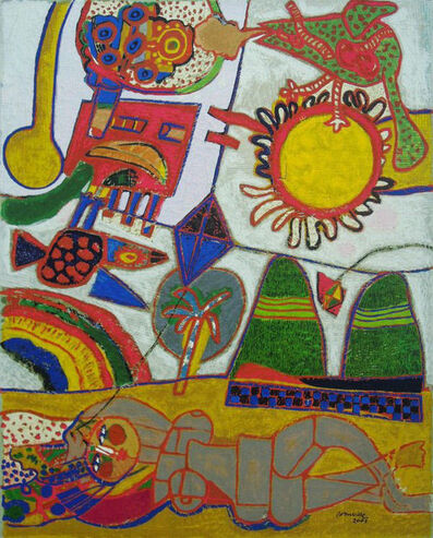 Guillaume Corneille, 'Brazilian Fete', 2003