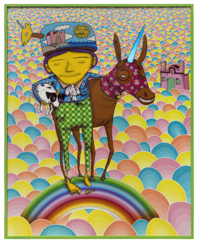 OSGEMEOS, 'Someone to share the dreams', 2018