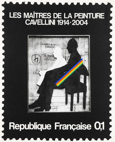 Guglielmo Achille Cavellini, 'Francobollo', 1972
