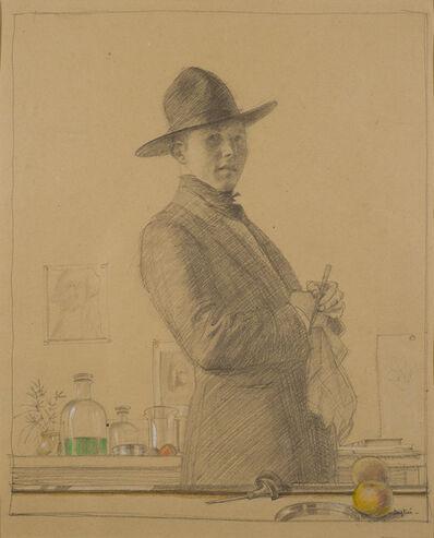 Robert Austin, 'Self Portrait in Roman Hat', ca. 1925