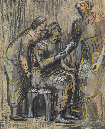 Henry Moore, 'Three Female Figures', 1949