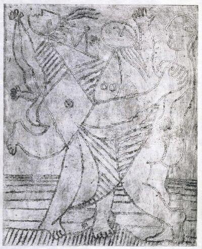 Pablo Picasso, 'Tristan Tzara, L'Antitête. Cahiers libres, Paris, 1933'