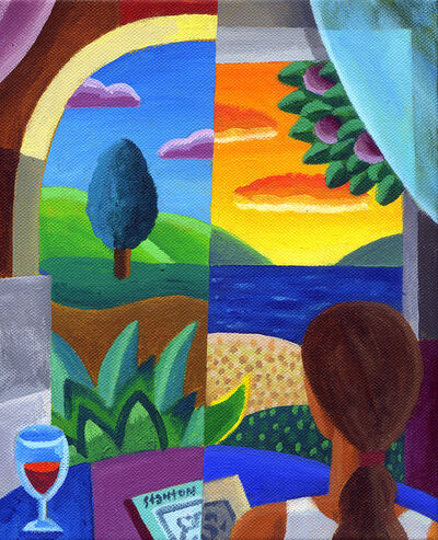 Philip Stanton, 'Looking Out II', 2019