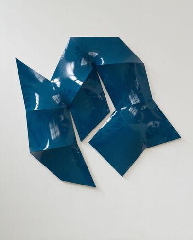 Jan Maarten Voskuil, 'Improved Dynamic Monochrome sea blue', 2015