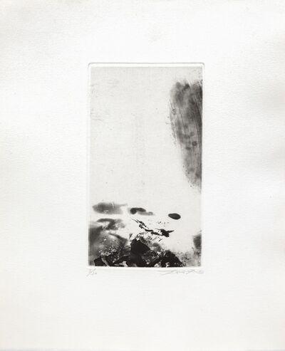 Zao Wou-Ki 趙無極, 'En attendant un jour de fete', 1973