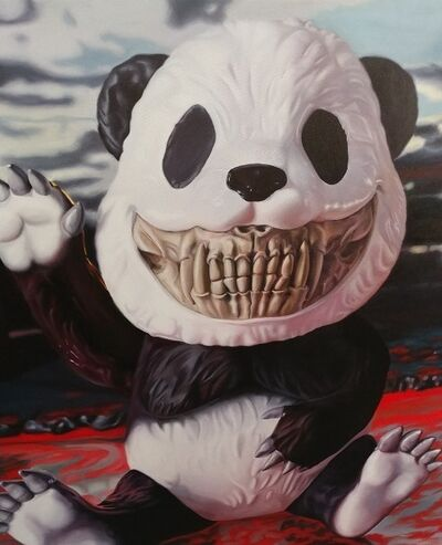 Ron English, 'Panda Grin', 2019