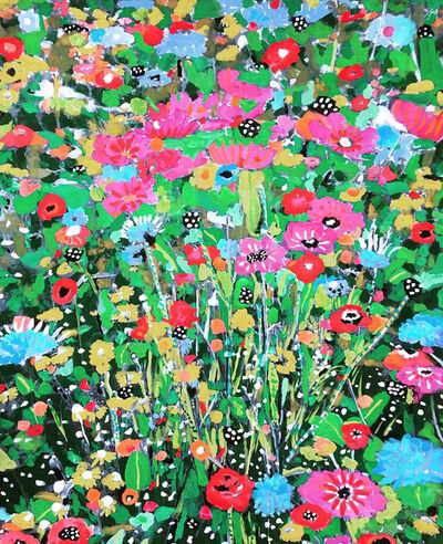 Andee Axe, 'Field of Colorful Blooms', 2020