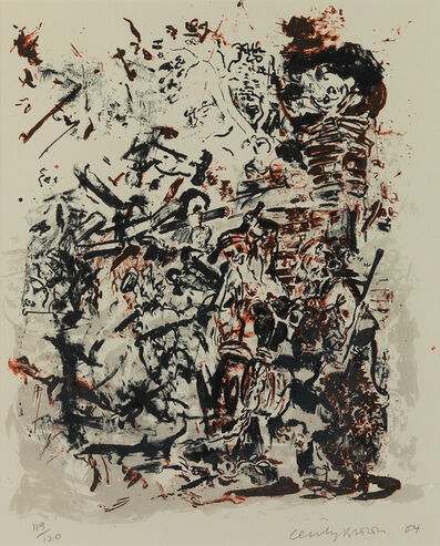 Cecily Brown, 'Study, after An Election by William Hogarth', 2004