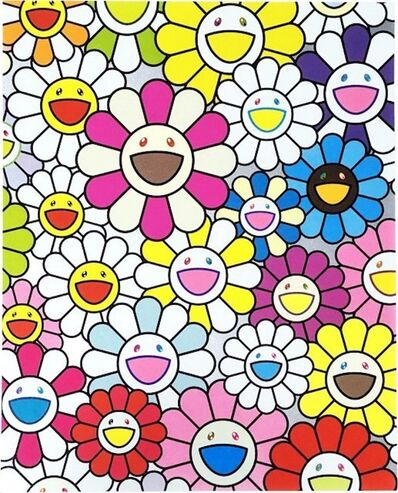 Takashi Murakami, 'A Little Flower Painting I', 2017
