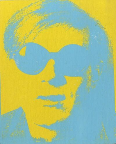 Andy Warhol, 'Rare silkscreen invitation to Andy Warhol birthday celebration, from the collection of Tim Hunt, Andy Warhol's agent at the Warhol Foundation and Tama Janowitz', 2009