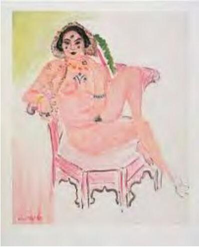 Henri Matisse, 'L'Odalisque Assise', 1954