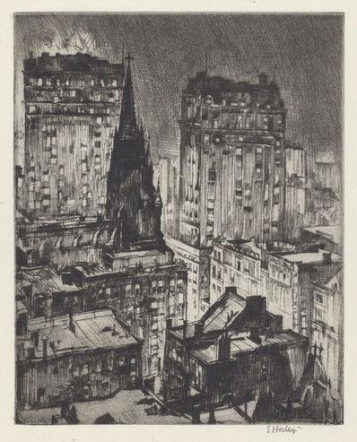 Earl Horter, 'The Dark Tower', 1919