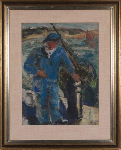 Mané-Katz, 'Untitled, Fisherman', 1927