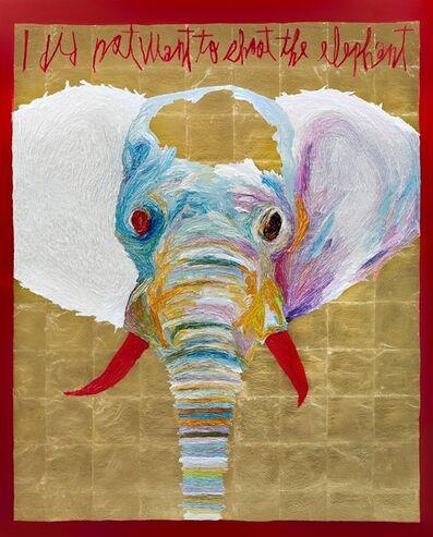 Woo Kuk Won, 'Shooting an elephant', 2019