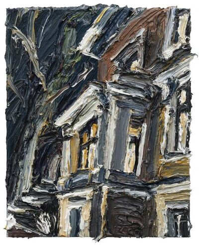 Christopher Lehmpfuhl, 'Literaturcafé am Abend', 2020