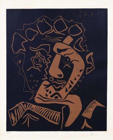 Pablo Picasso, 'Tête d'Histrion (Le Danseur)', 1965