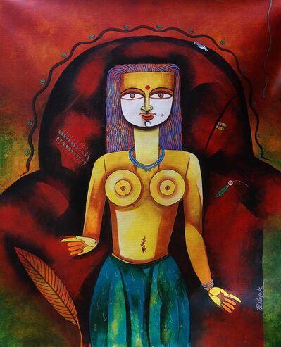 Prakash G Nayak, 'Goddess 02', 2017