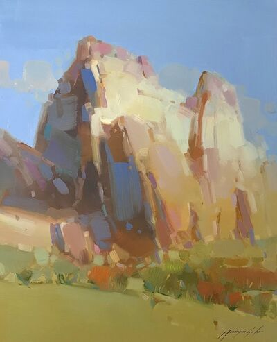 Vahe Yeremyan, 'Cliff Mountain', 2109