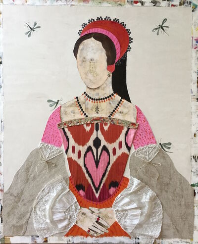 Maria Torroba, 'Queen Ikat and the dragonfly', 2017